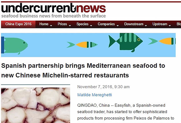Mediterranean seafood to Michelin starred restaurants in China