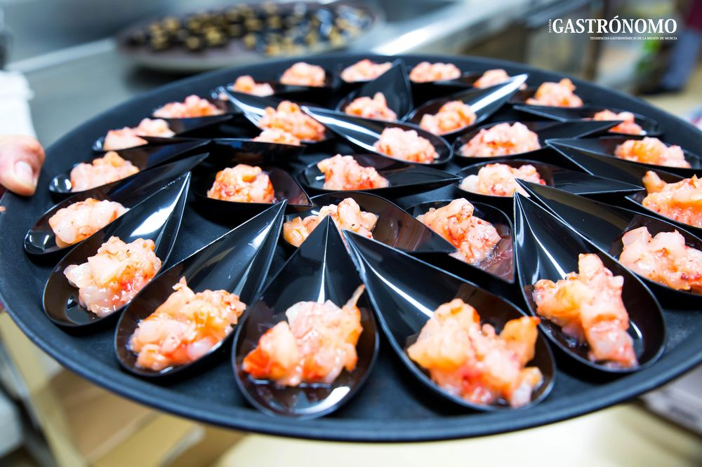 Congelats Palamos organized a Gastronomic  event  for high end chefs in Murcia.